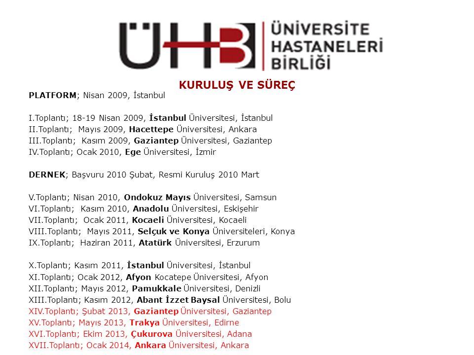 KURULUŞ VE SÜREÇ PLATFORM; Nisan 2009, İstanbul
