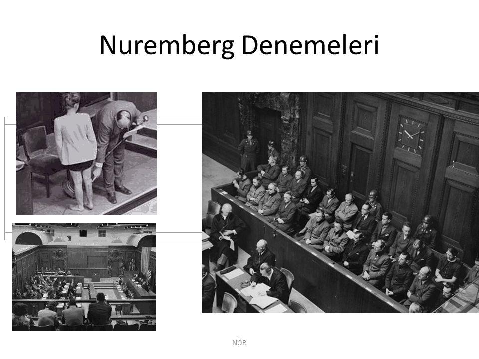 Nuremberg Denemeleri NÖB
