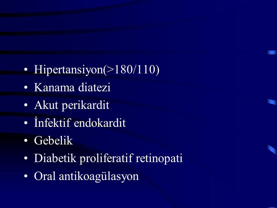 Hipertansiyon(>180/110)