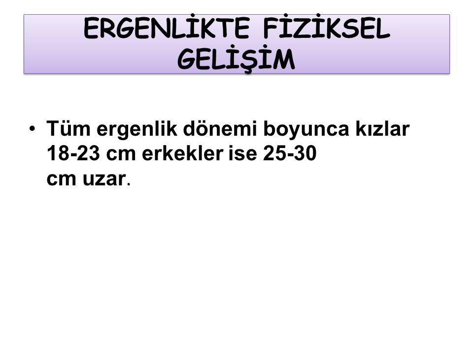 ERGENLİKTE FİZİKSEL GELİŞİM
