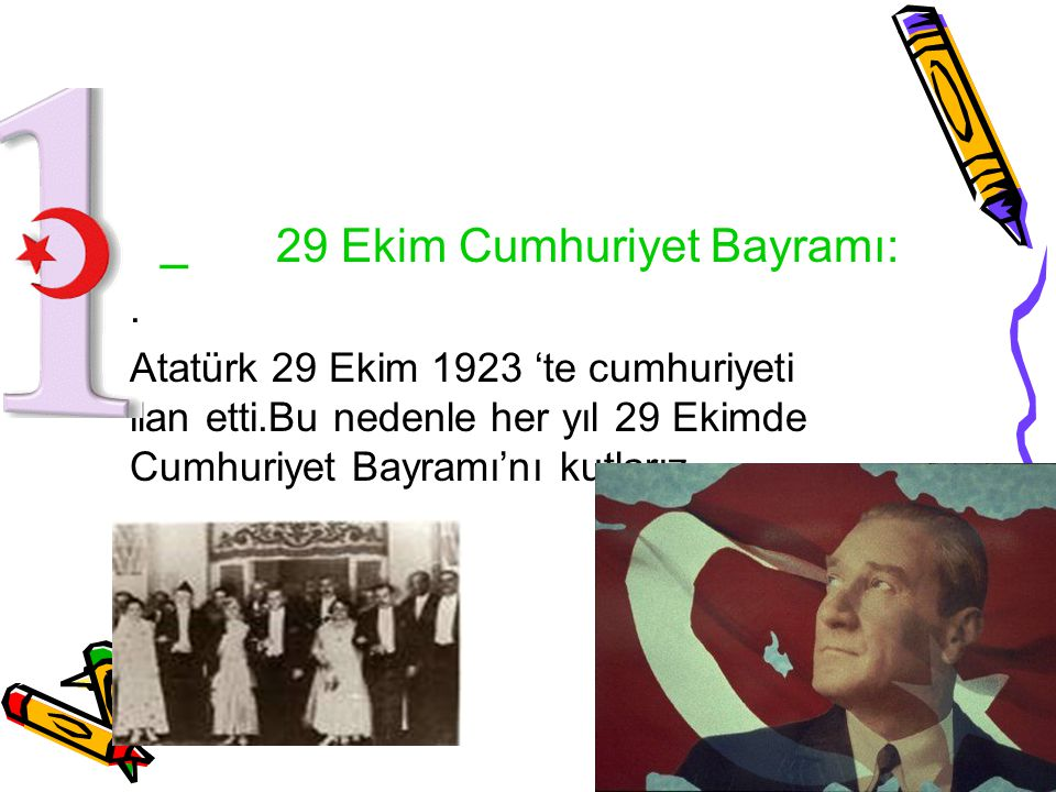 _ 29 Ekim Cumhuriyet Bayramı: