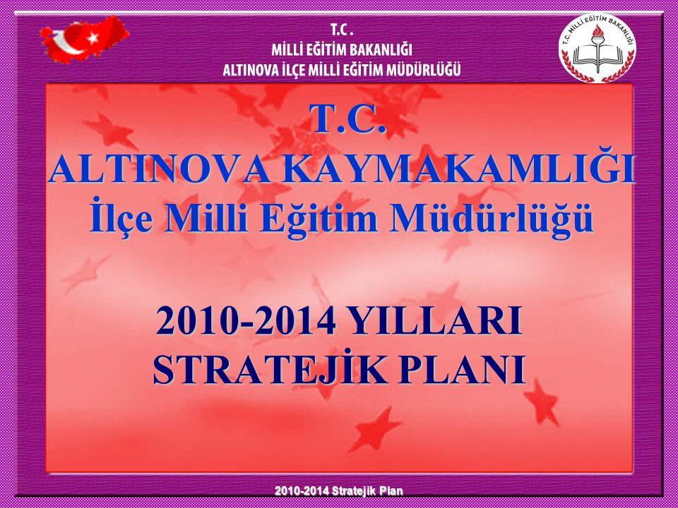 T.C. ALTINOVA KAYMAKAMLIĞI İlçe Milli Eğitim Müdürlüğü