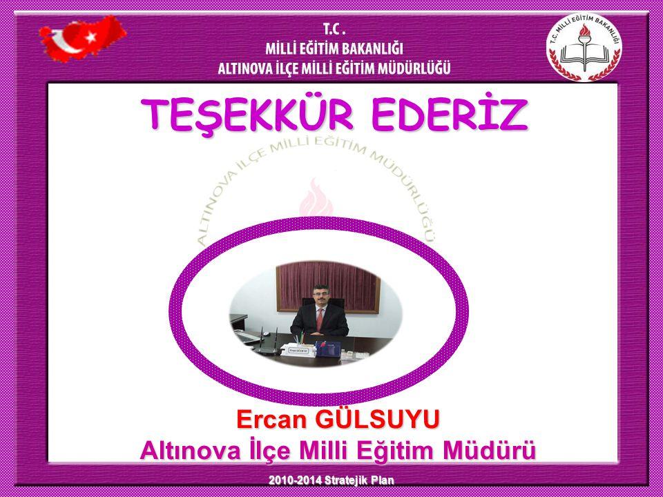 Altınova İlçe Milli Eğitim Müdürü