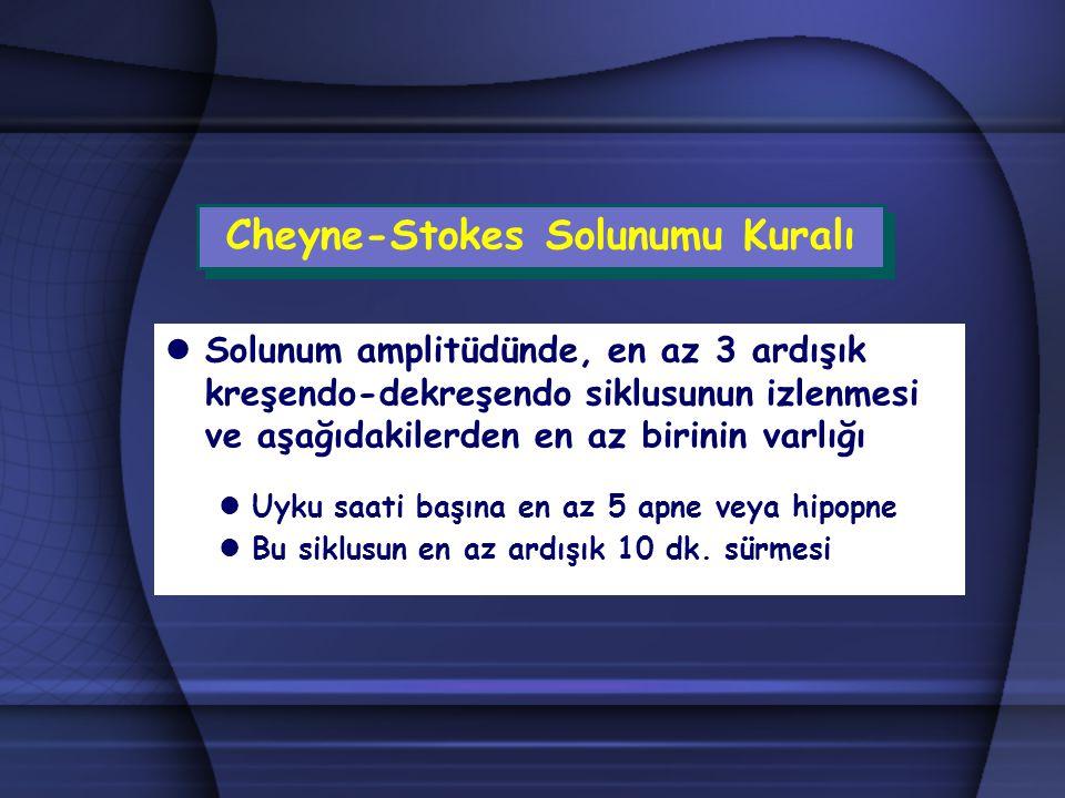 Cheyne-Stokes Solunumu Kuralı