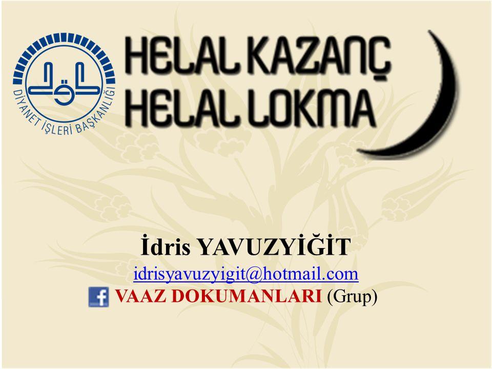 VAAZ DOKUMANLARI (Grup)