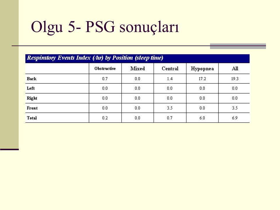 Olgu 5- PSG sonuçları