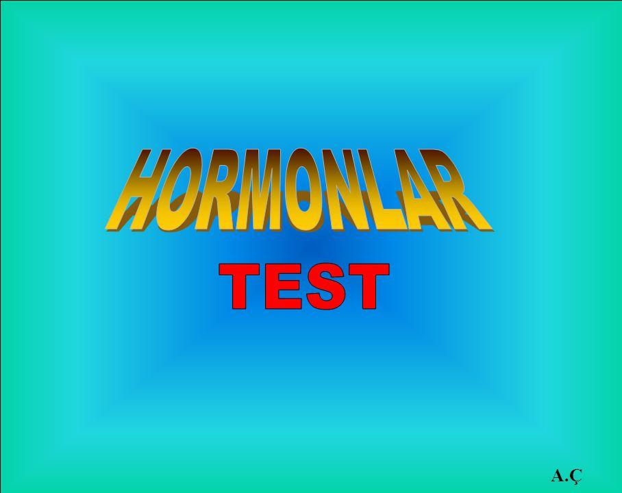 HORMONLAR TEST A.Ç