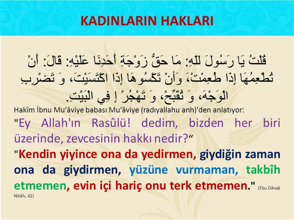 KADINLARIN HAKLARI