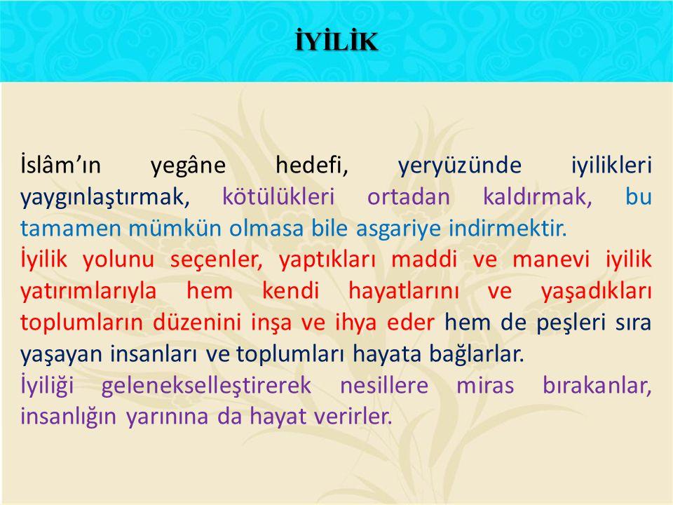 İYİLİK