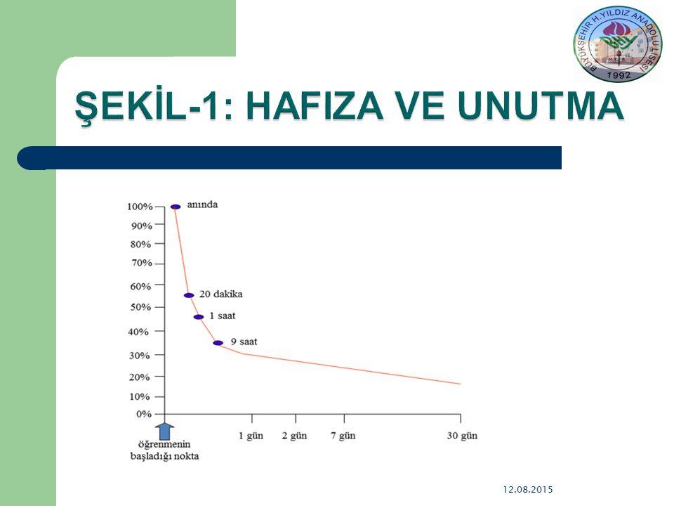 ŞEKİL-1: HAFIZA VE UNUTMA