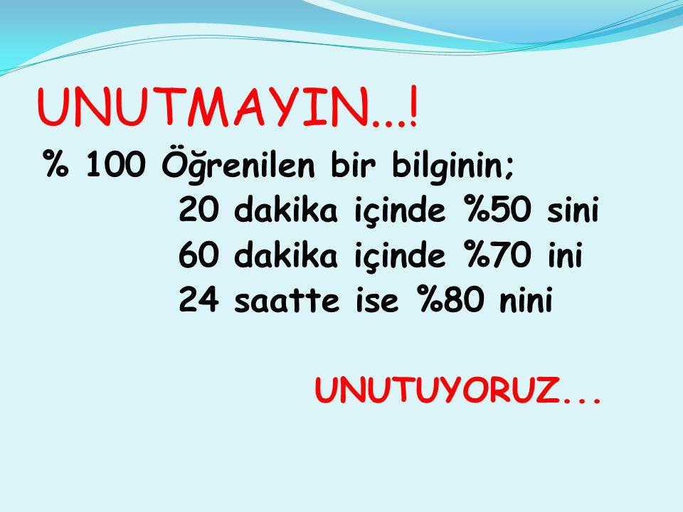 UNUTMAYIN....