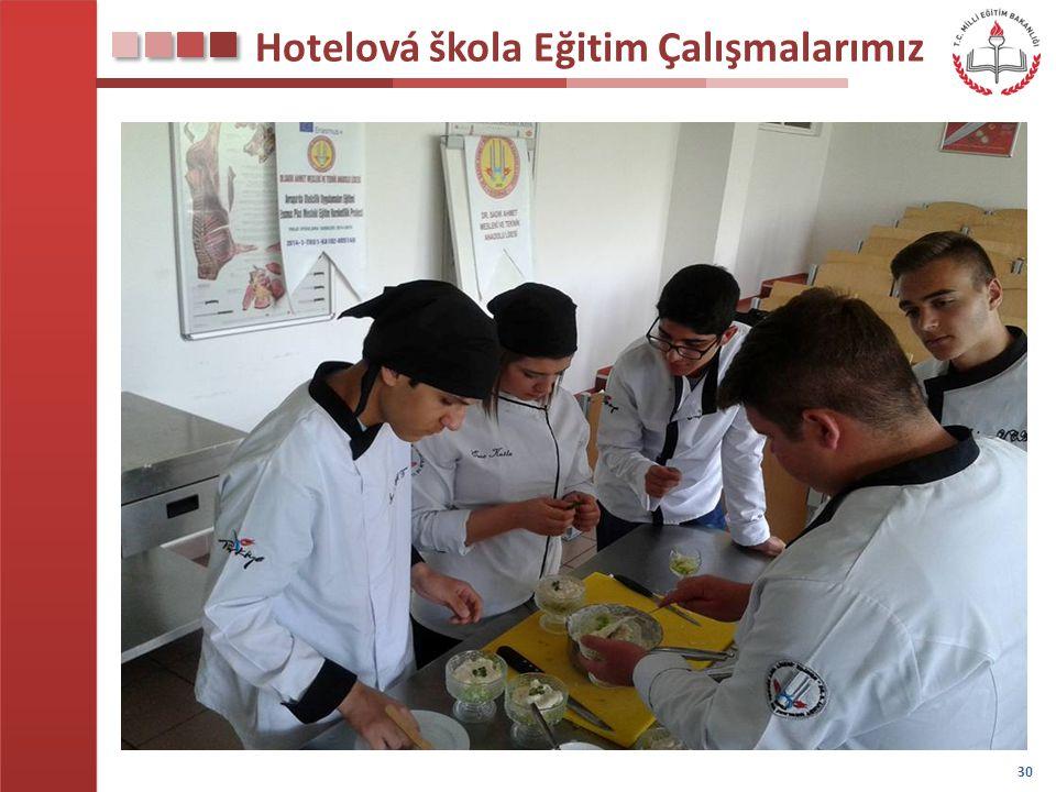 Hotelová škola Eğitim Çalışmalarımız