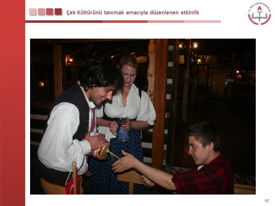Çek Kültürünü tanımak amacıyla düzenlenen etkinlik