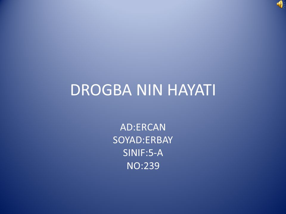 AD:ERCAN SOYAD:ERBAY SINIF:5-A NO:239