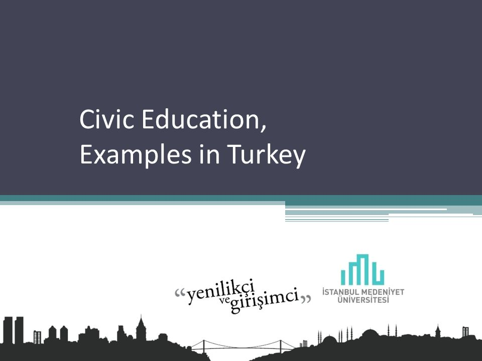 Civic Education, Examples in Turkey