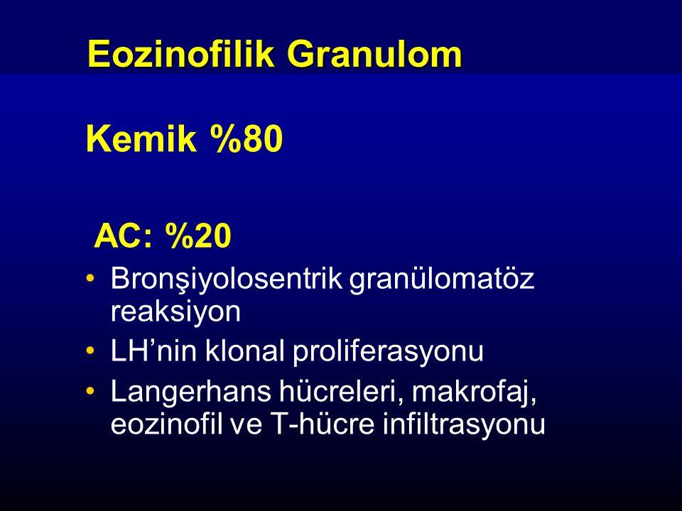 Eozinofilik Granulom Kemik %80 AC: %20