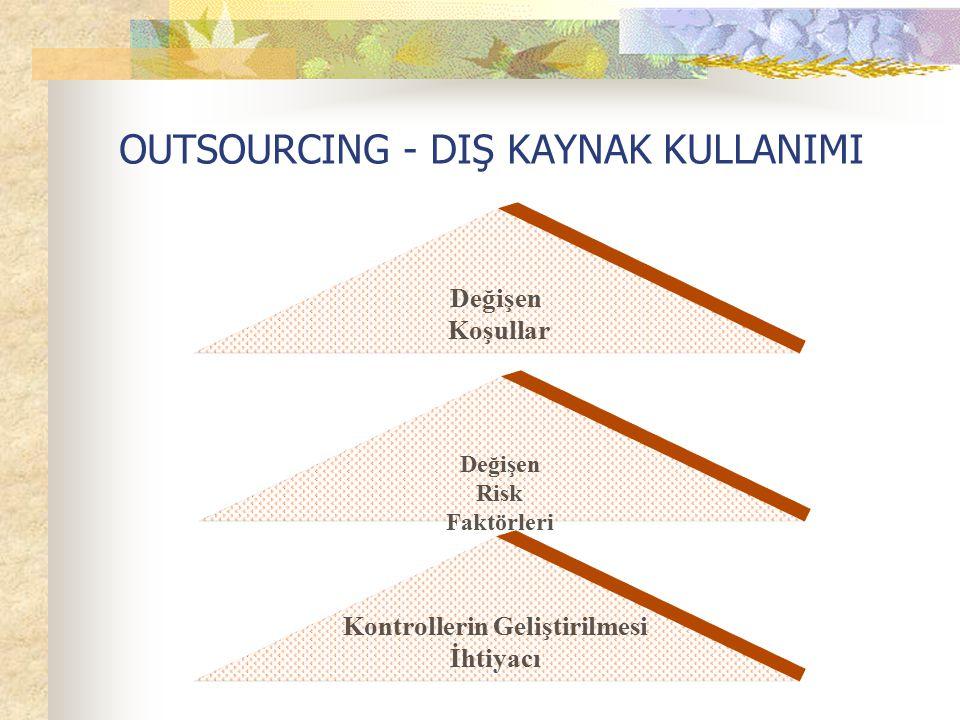 OUTSOURCING - DIŞ KAYNAK KULLANIMI