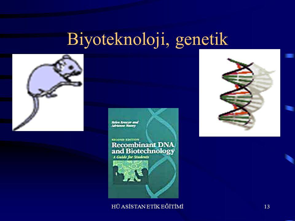 Biyoteknoloji, genetik