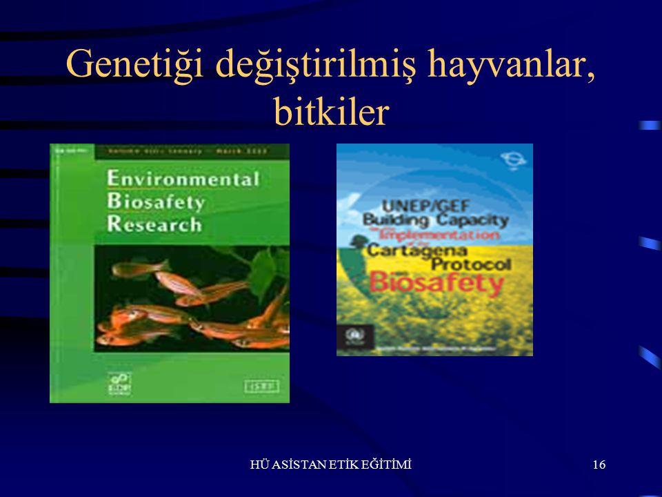 Genetiği değiştirilmiş hayvanlar, bitkiler