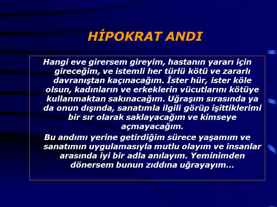 HİPOKRAT ANDI