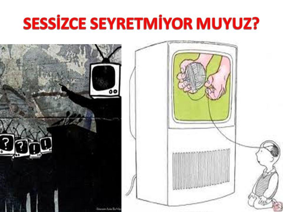 SESSİZCE SEYRETMİYOR MUYUZ