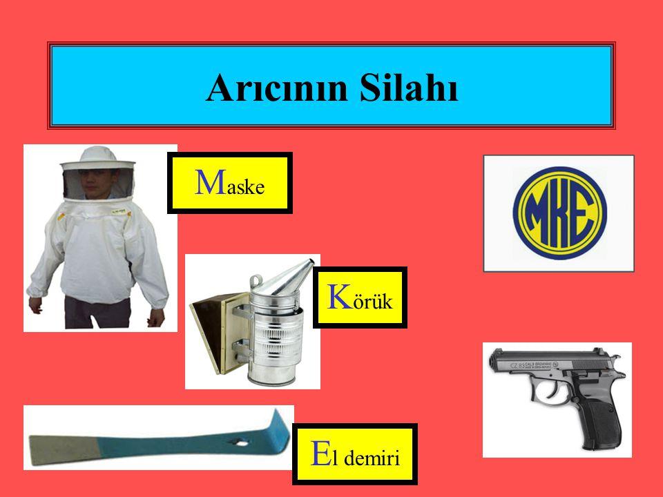 Arıcının Silahı Maske Körük El demiri