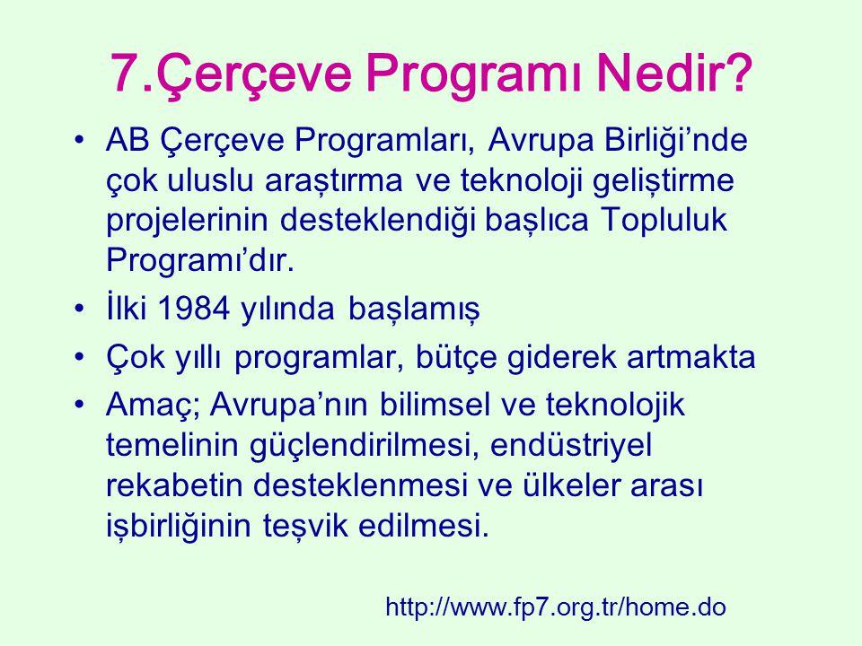 7.Çerçeve Programı Nedir
