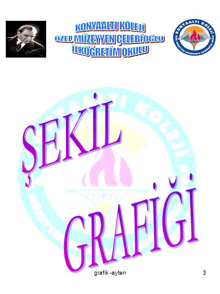 ŞEKİL GRAFİĞİ grafik -ayten