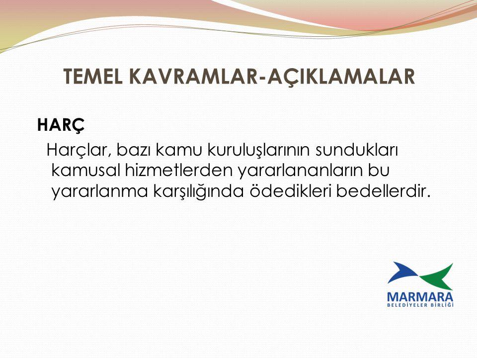 TEMEL KAVRAMLAR-AÇIKLAMALAR