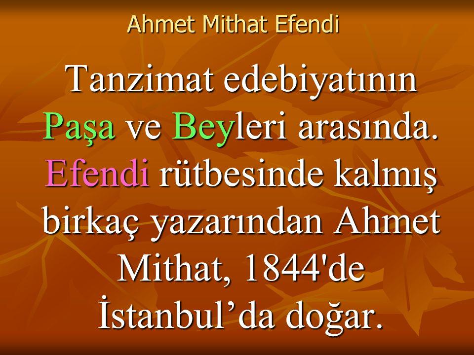 Ahmet Mithat Efendi