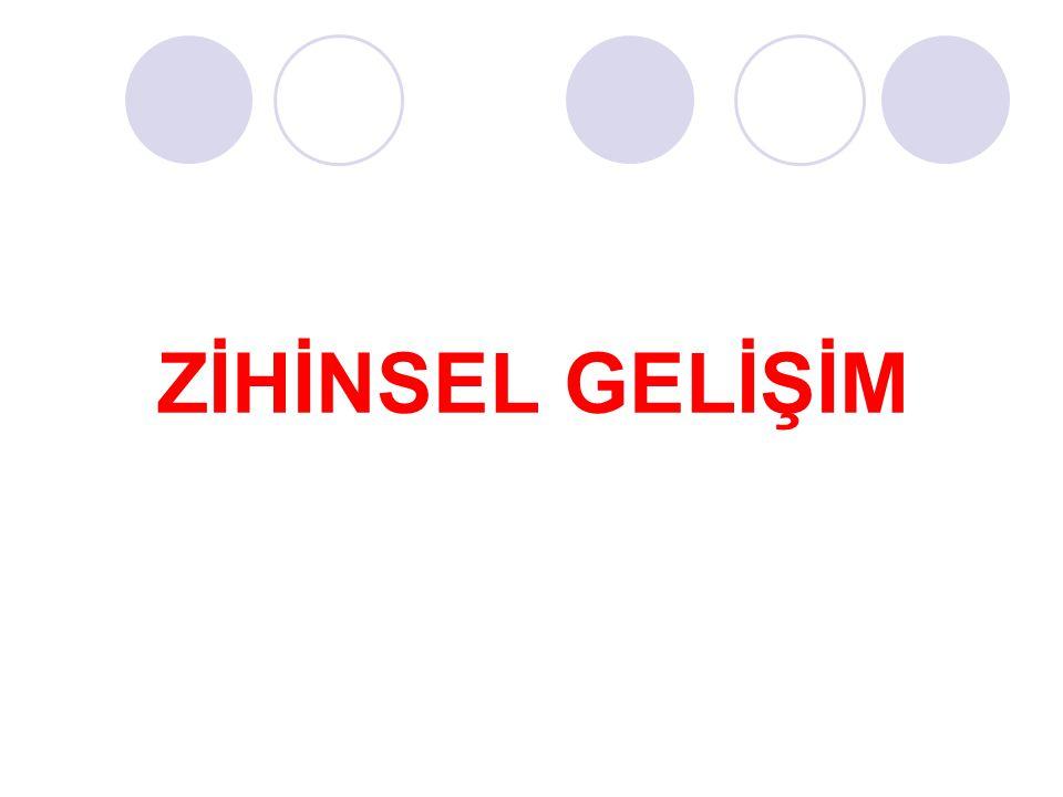ZİHİNSEL GELİŞİM