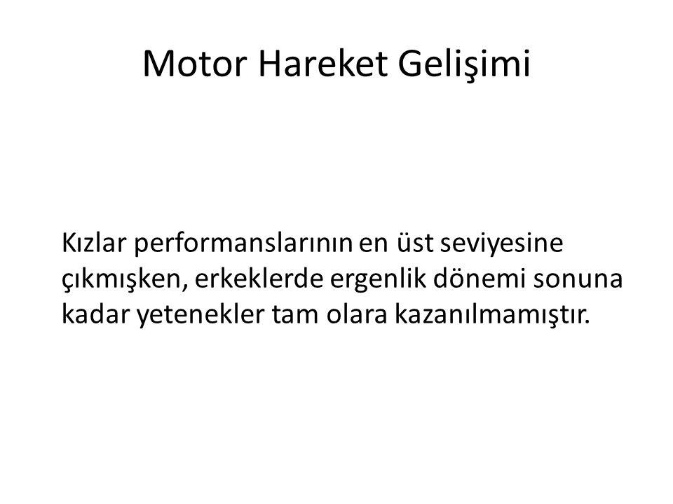 Motor Hareket Gelişimi