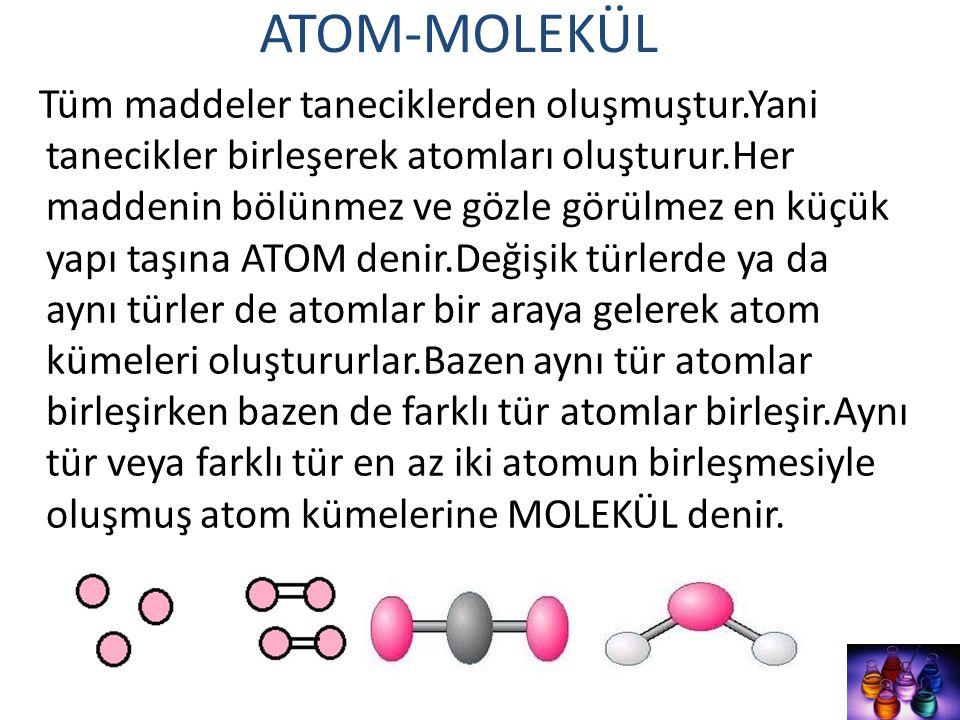 ATOM-MOLEKÜL