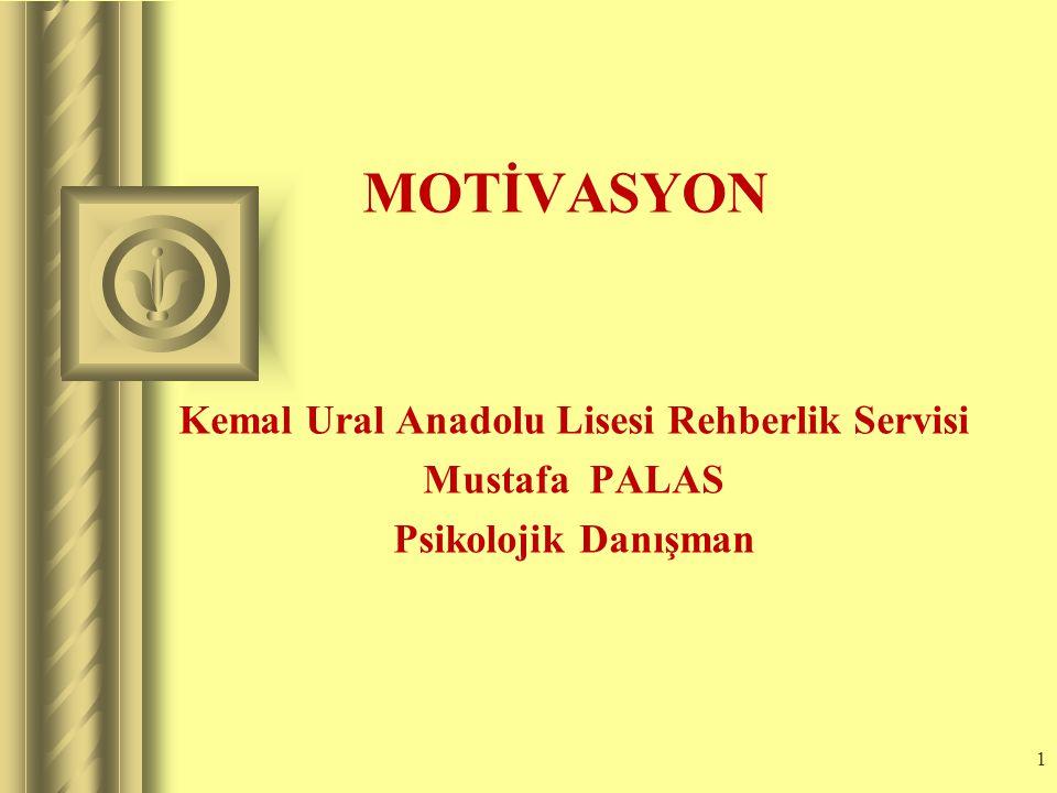 Kemal Ural Anadolu Lisesi Rehberlik Servisi