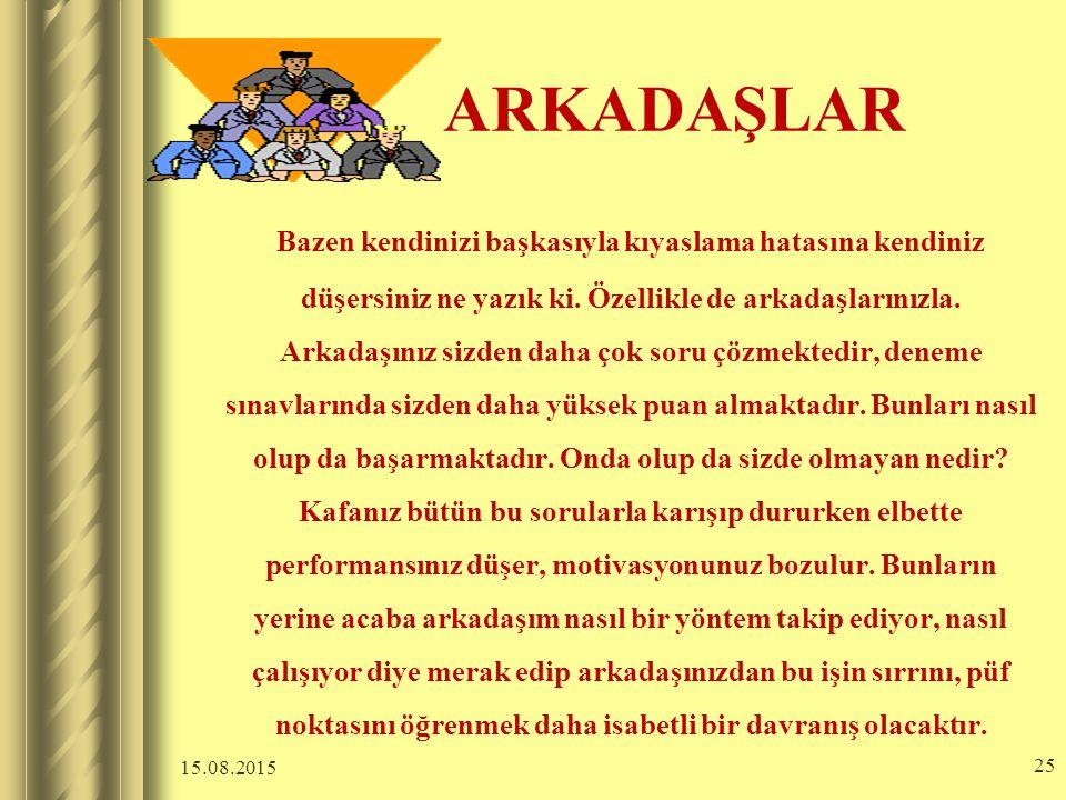 ARKADAŞLAR