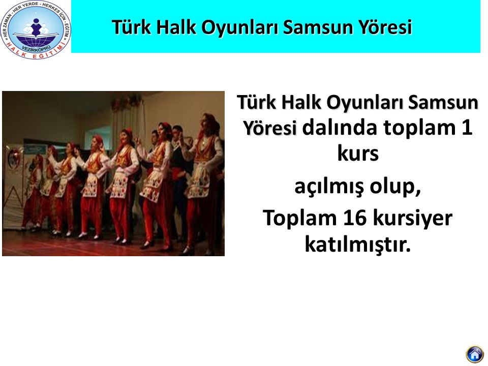 Türk Halk Oyunları Samsun Yöresi