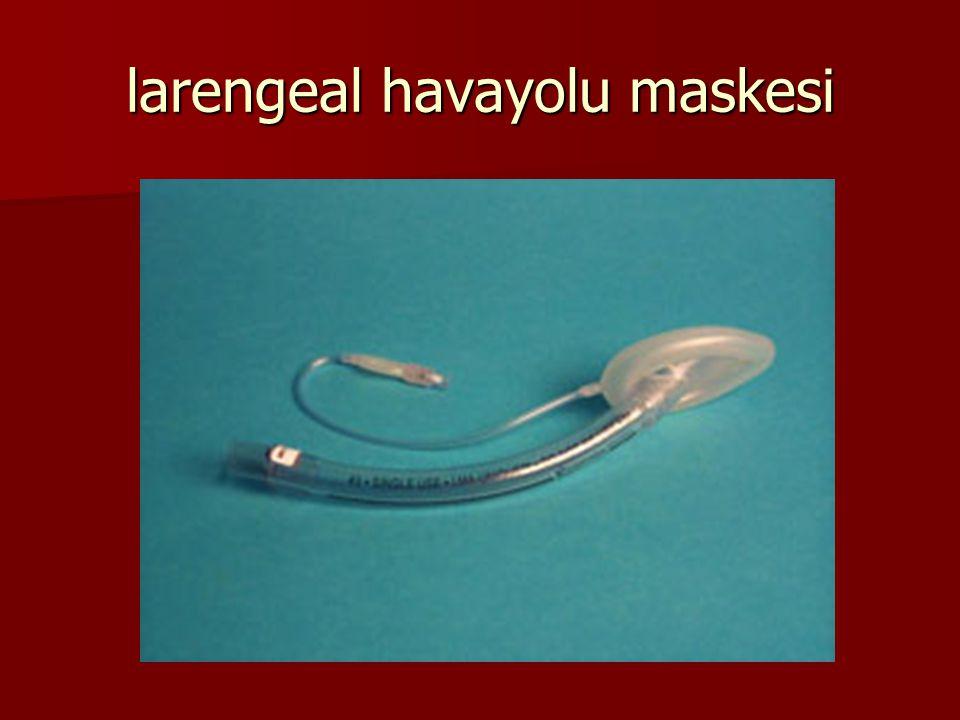 larengeal havayolu maskesi