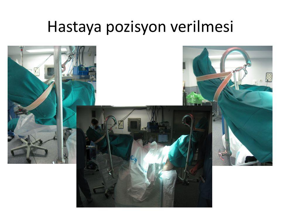 Hastaya pozisyon verilmesi