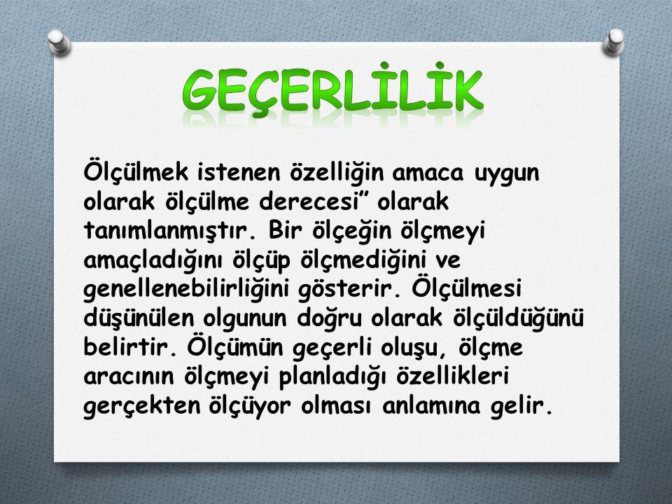 GEÇERLİLİK