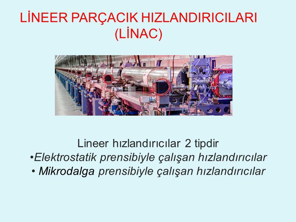 LİNEER PARÇACIK HIZLANDIRICILARI (LİNAC)