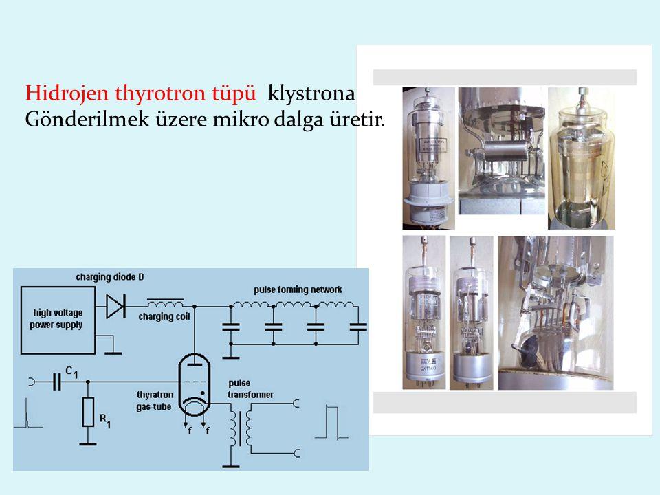 Hidrojen thyrotron tüpü klystrona