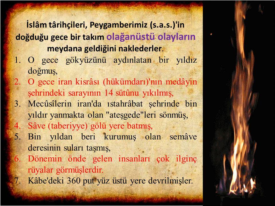 İslâm târihçileri, Peygamberimiz (s. a. s