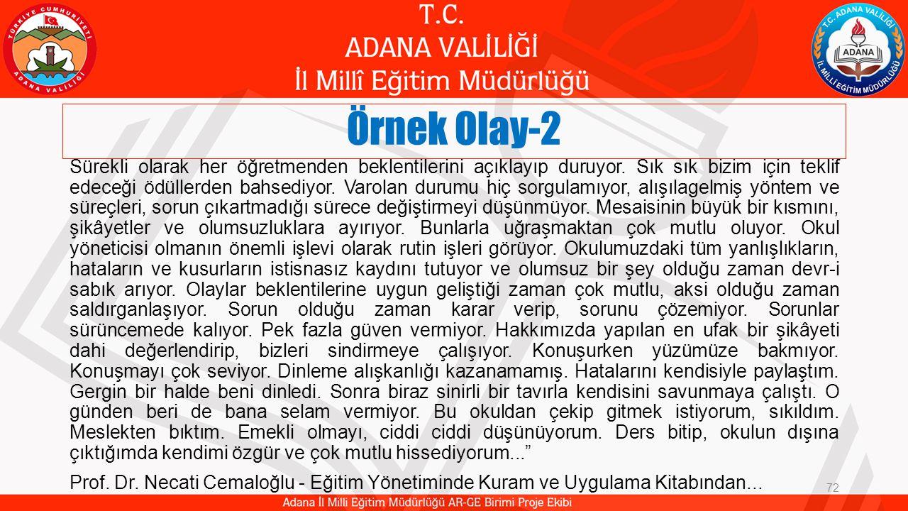 Örnek Olay-2