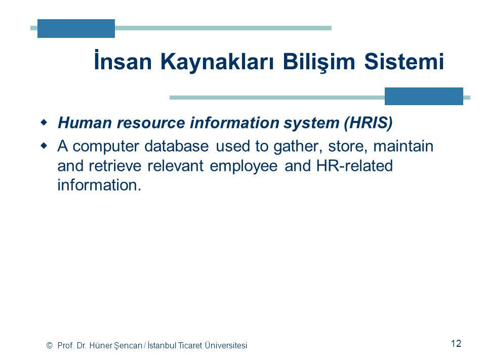 İnsan Kaynakları Bilişim Sistemi
