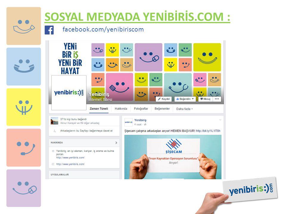 SOSYAL MEDYADA YENİBİRİS.COM :