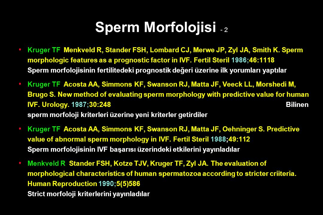 Sperm Morfolojisi - 2