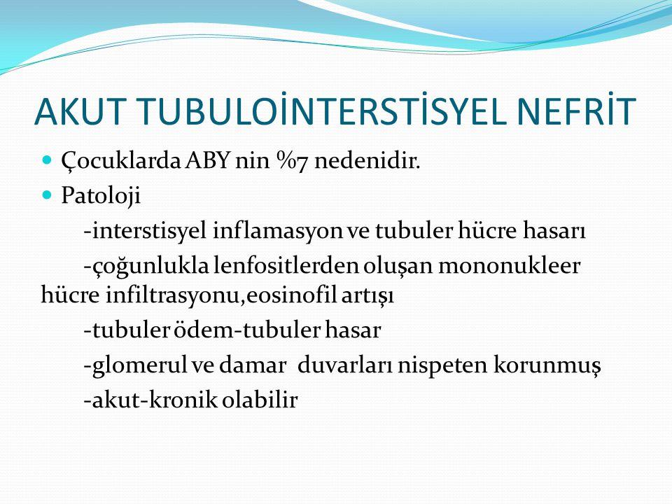 AKUT TUBULOİNTERSTİSYEL NEFRİT