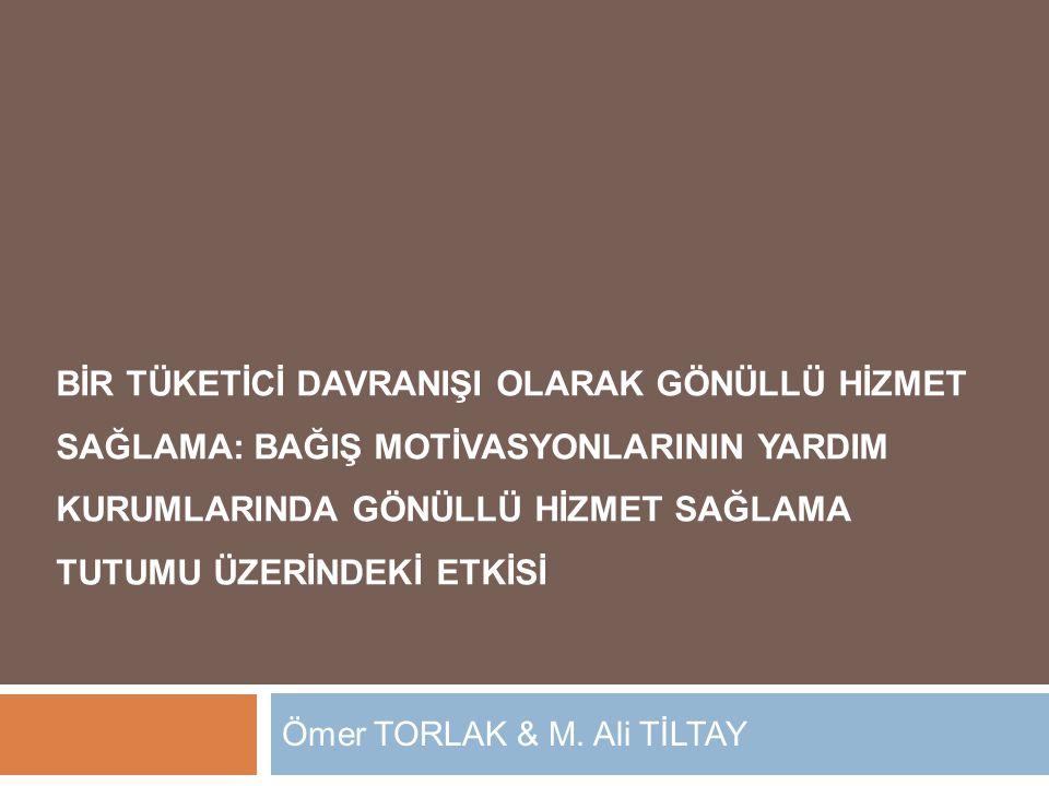 Ömer TORLAK & M. Ali TİLTAY