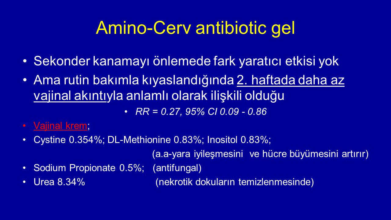 Amino-Cerv antibiotic gel