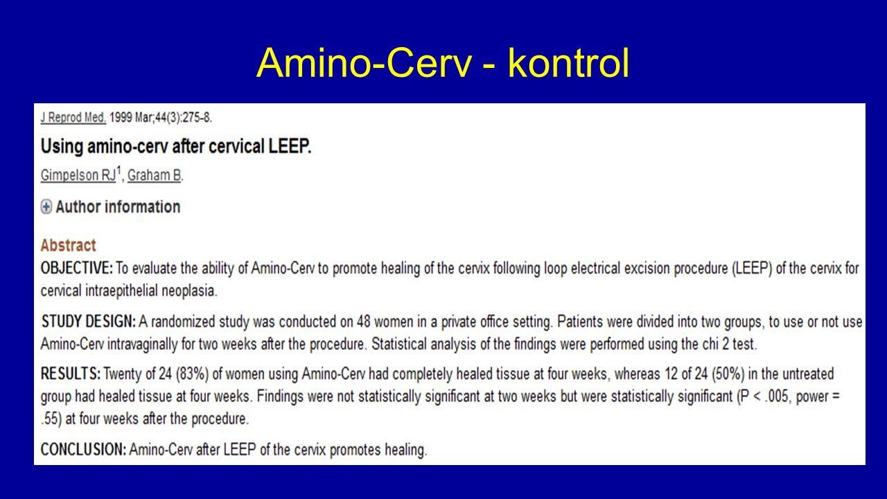 Amino-Cerv - kontrol